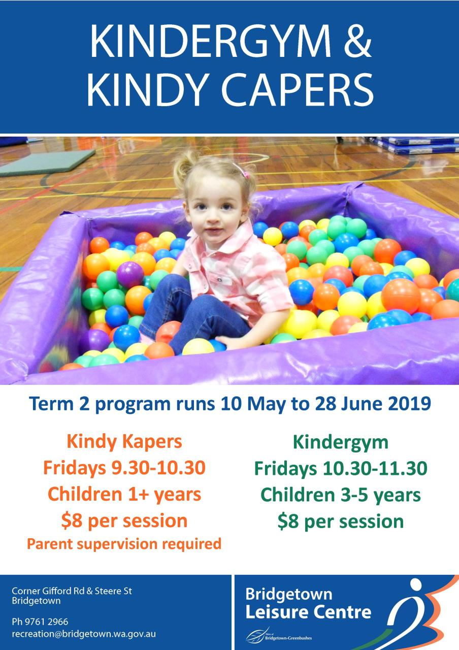 Kindy Kapers & Kindergym