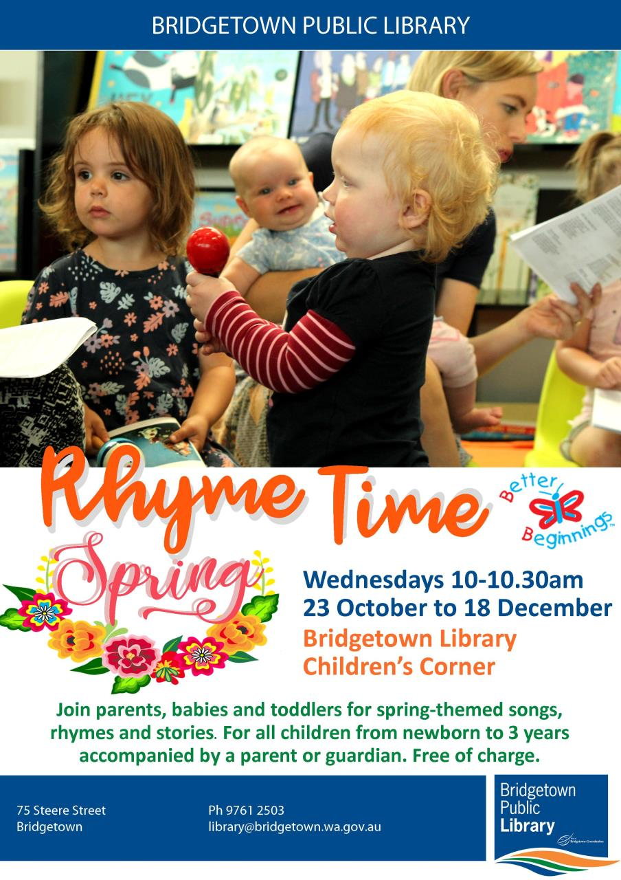 Rhyme Time at the Bridgetown Library