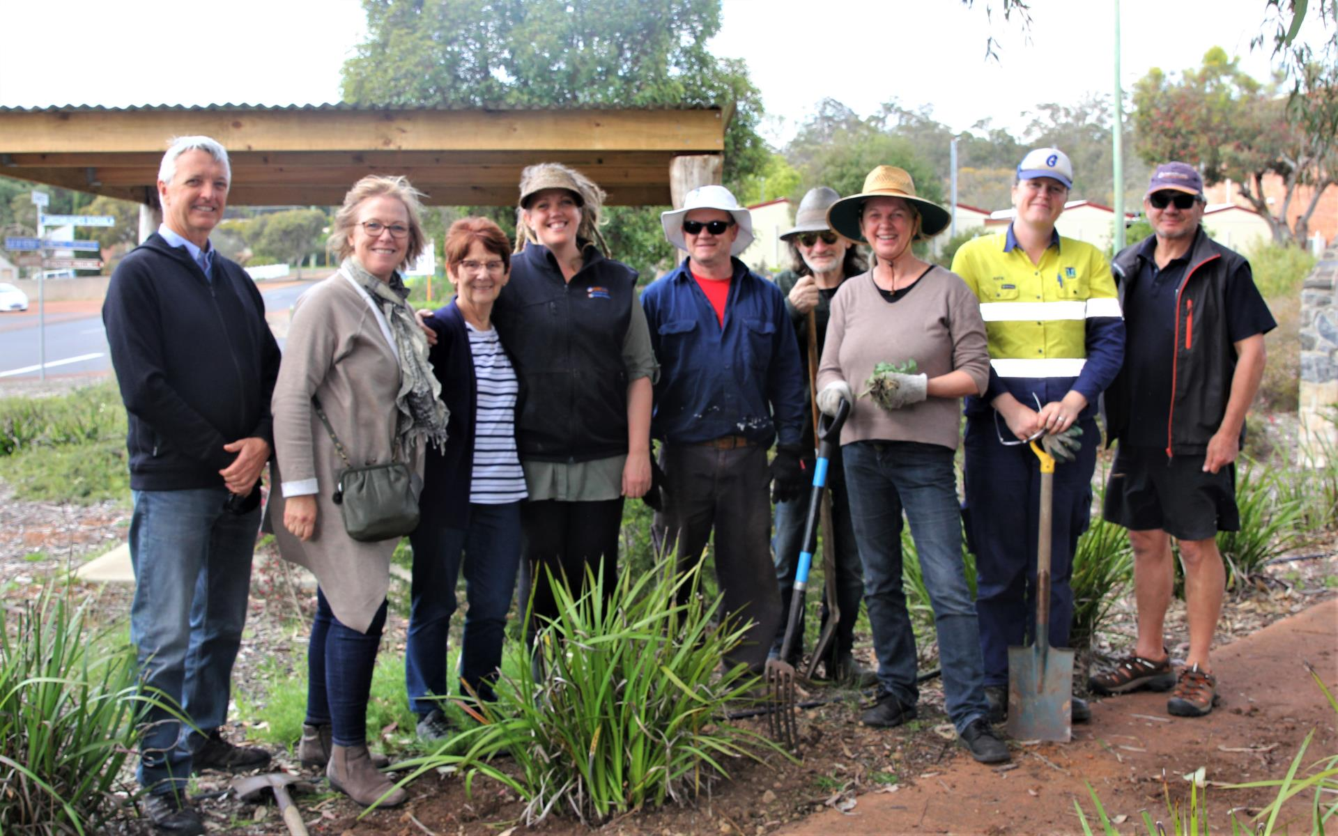 Tidy Town Judges visit Bridgetown and Greenbushes