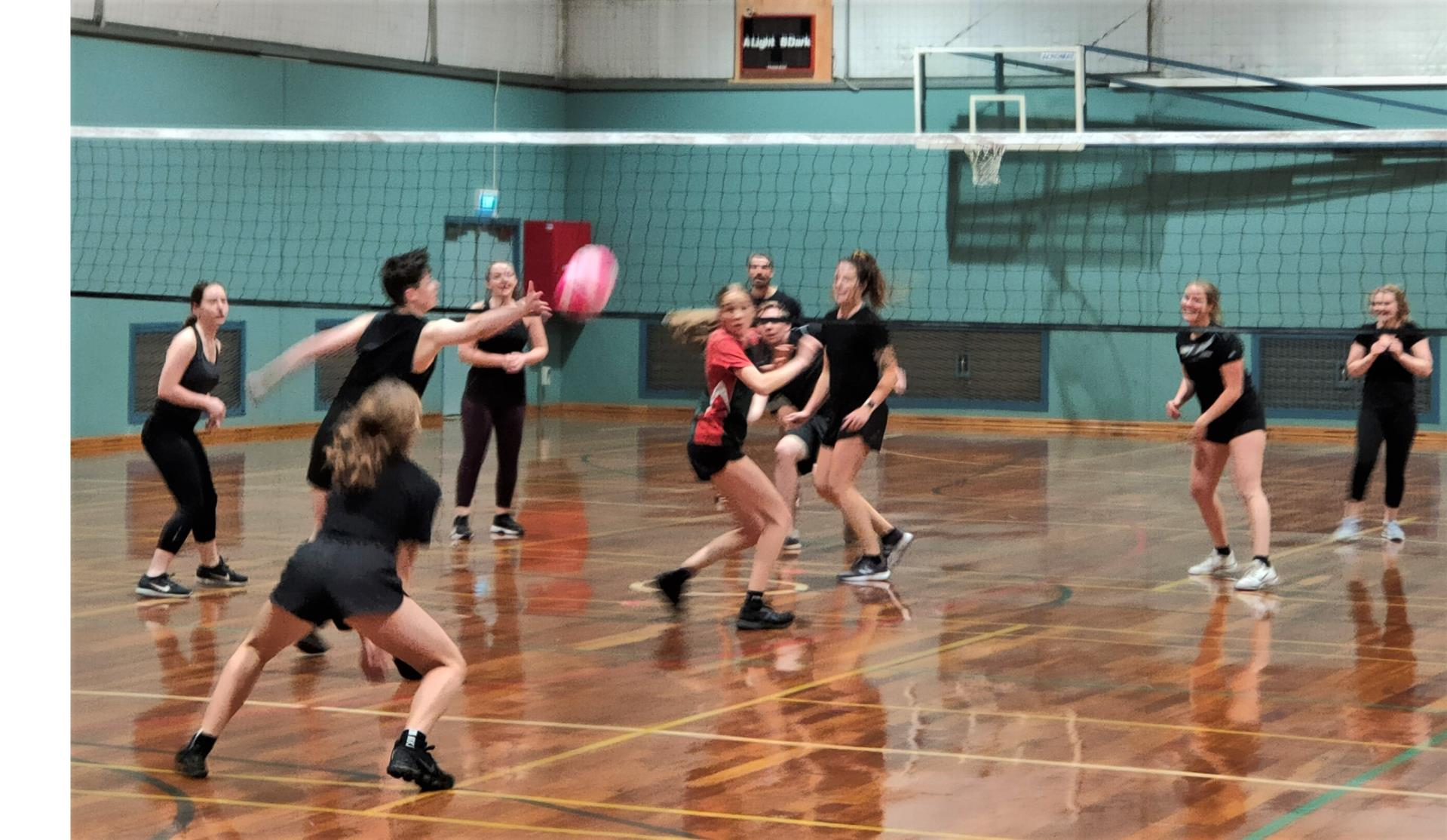 Volleyball Takes Off in Bridgetown