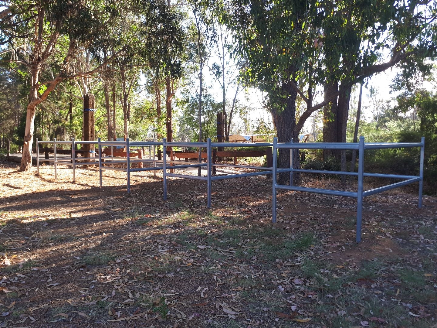Dunnet Camp Site Nannup horse yards